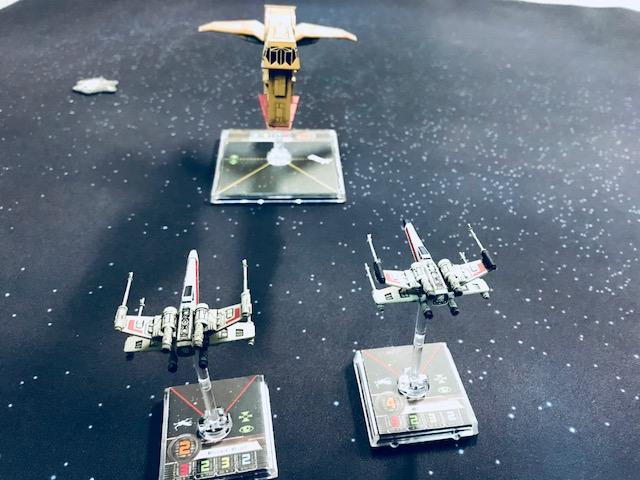 Whiskey Squadron versus theYV-666