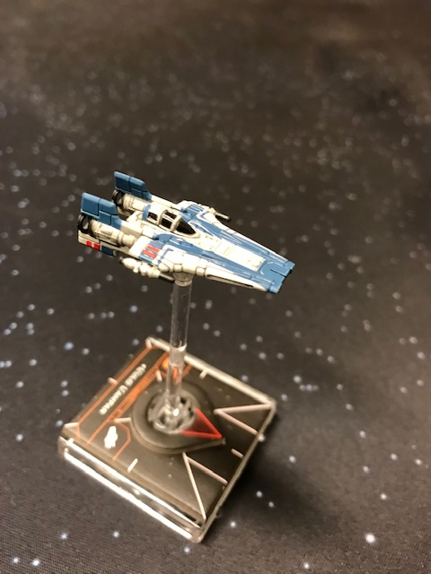 A solo mission for the RZ-2 A-Wing