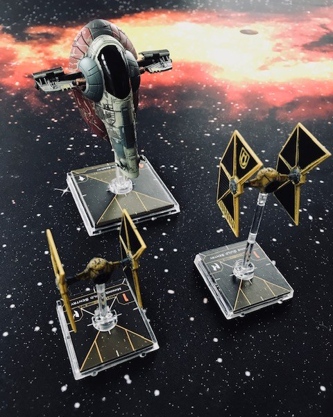 Tavern Wars: Fast play X-Wing system